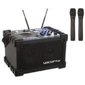 VocoPro JAMCUBE Portable Karaoke Player System w/ Built-in Wireless Mics