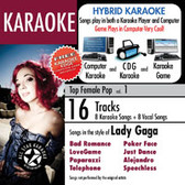 All Star Karaoke Hits of Lady Gaga W/ Karaoke Edge Vol. 1 ASK-820