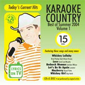 All Star Karaoke Best of Summer 2004 Country Vol.1 ASK-1526