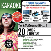 All Star Karaoke The 60's Greatest Hits w/ Karaoke Edge Vol 1 ASK-102