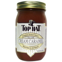 Large Cream Caramel Sauce