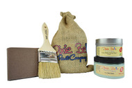 Chalk Mineral Paint Gift Bag Sea Glass with Wax