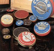 Beginner's Caviar Sampler Gift Set - Bowfin, Whitefish, Salmon, Lumpfish, and Capelin