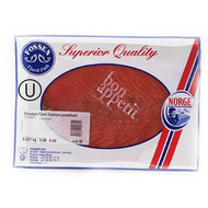 Norwegian Smoked Salmon Pre-Sliced 8 oz.