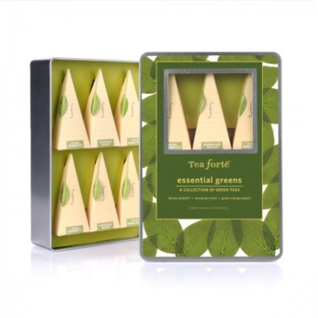 Tea Forte Essential Greens Gift Box