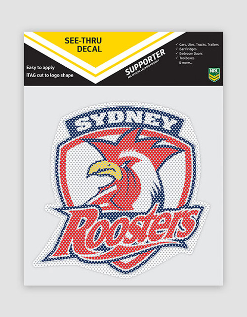 Sydney Roosters See-Thru Logo Decal