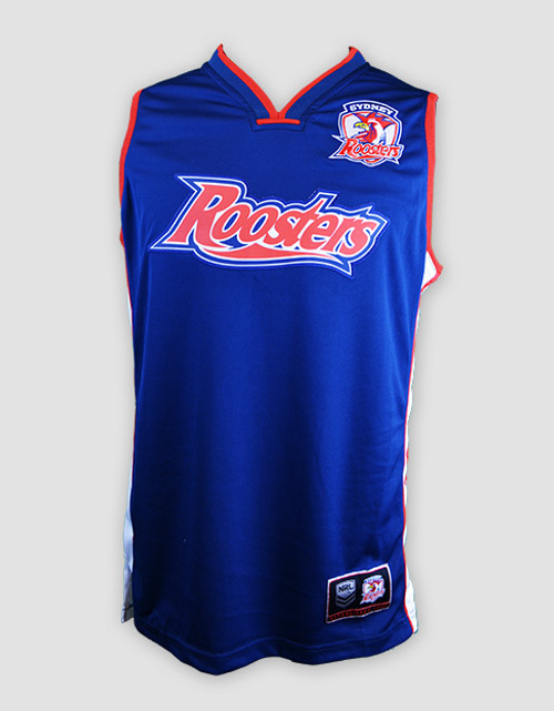 Sydney Roosters 2015 Adults Classic Basketball Singlet