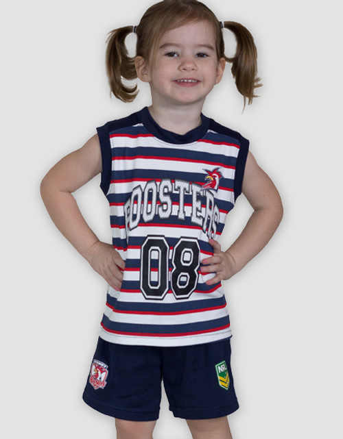 Sydney Roosters Toddlers Singlet & Shorts Set