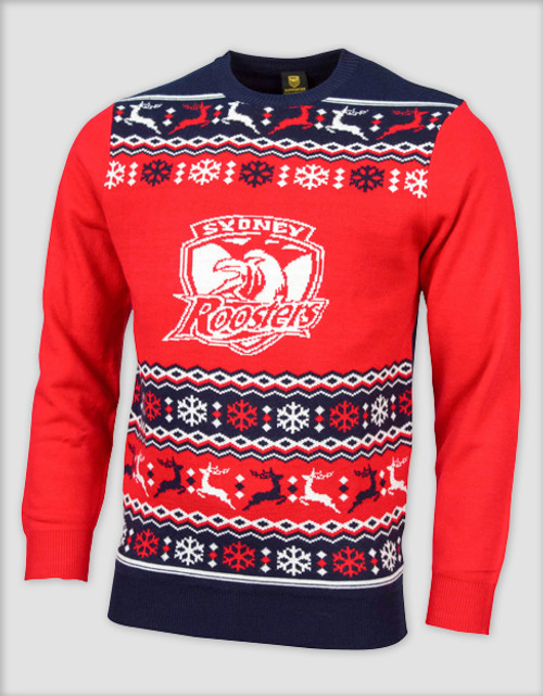 Sydney Roosters 2016 Mens Ugly Sweater