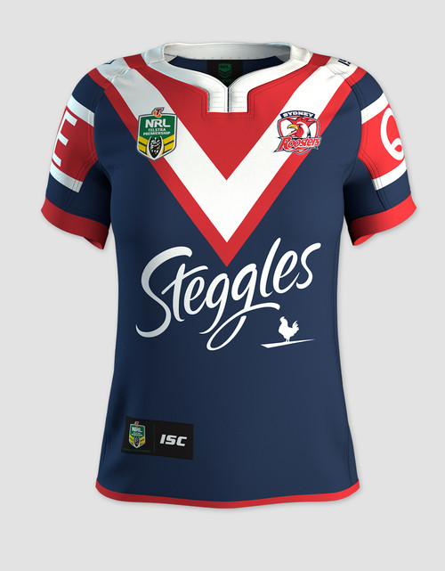 Sydney Roosters 2017 Womens Home Jersey - Custom Number