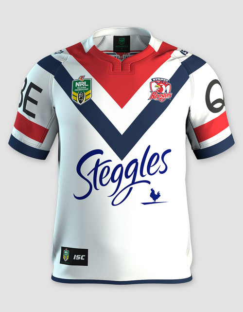 Sydney Roosters 2017 Mens Away Jersey - Custom Number