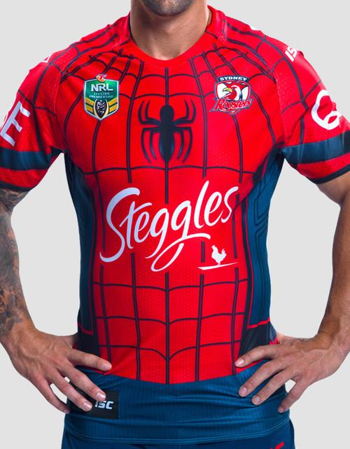 Sydney Roosters 2017 Mens Spider-Man Marvel Jersey