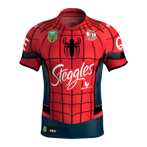 Sydney Roosters 2017 Womens Spider-Man Marvel Jersey
