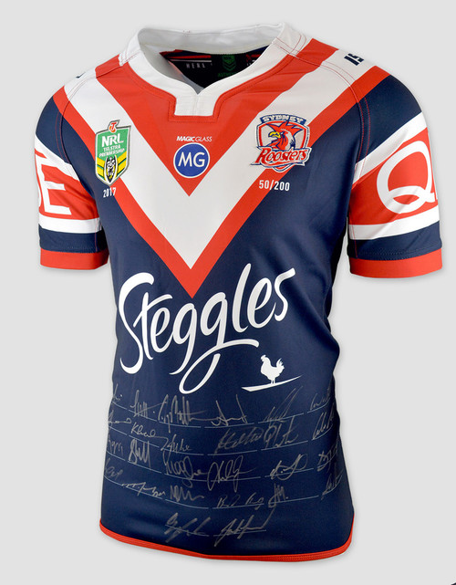 Sydney Roosters 2017 Limited Edition Signed Jersey