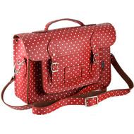 yoshi-satchel-belforte-yb84-red-polka-angle