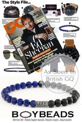BOYBEADS Devin III Bracelet Featured in British GQ Magazine