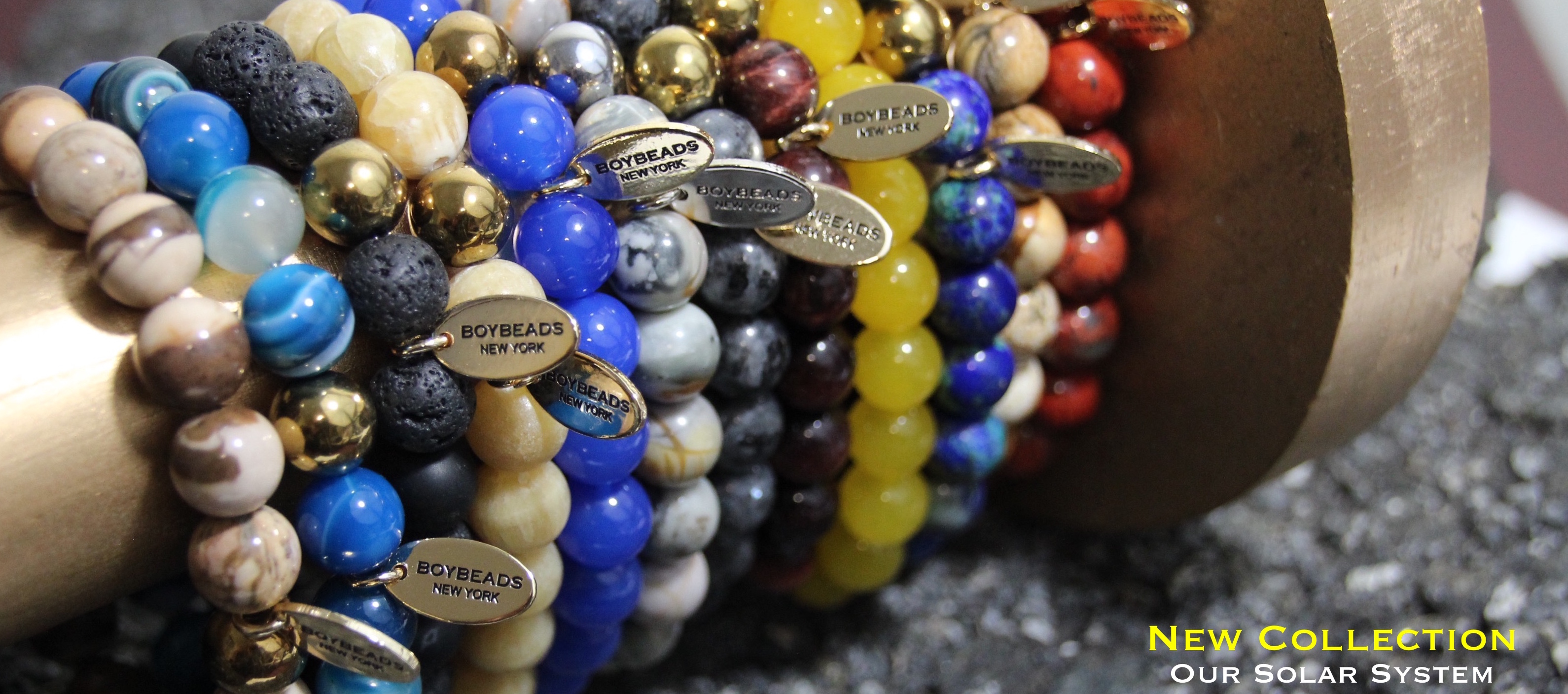 Boybeads Custom Natural Stone Bead Bracelets Necklaces