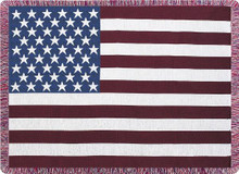 Stars & Stripes Tapestry Throw