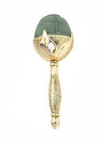 Elegant Bouquet Holder-Gold Metallic Leaf