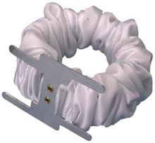 White Ruffled Wristlet (6-pack)