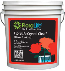 Floralife Crystal Clear Flower Food 300-Powder (20 lb)