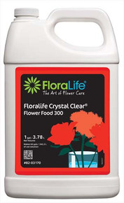 Floralife Crystal Clear Flower Food 300-Liquid (gallon)