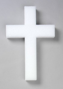 Styrofoam Cross