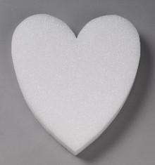 Styrofoam Solid Heart