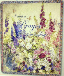 Butterfly Paradise Tapestry Throw