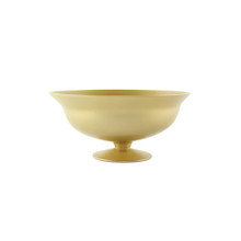 "10 1/2"" Footed Bowl-Vintage Champagne"
