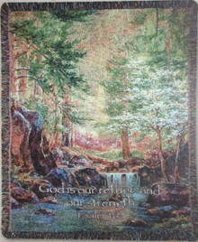 Nature's Retreat Tapestry Throw