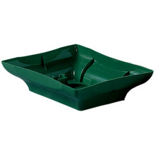 "8"" Centerpiece Tray-Green"