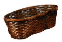 Triple Peanut Basket-Stain