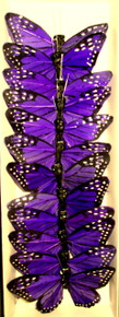 "3"" Butterfly-Purple (12-pack)"