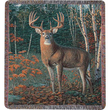 Autumn Sentinel Tapestry Throw