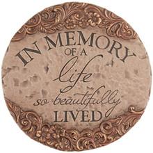 """In Memory"" Garden Stone"