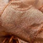 Sheer Copper Ribbon