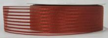 Sheer Stripe-Rust Ribbon