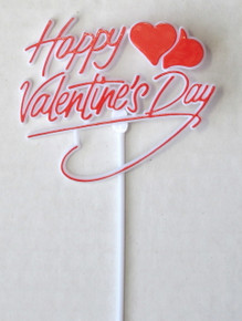 """Happy Valentine's Day"" Sticks"