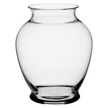 """7 1/4"""" Ginger Vase - Crystal"""