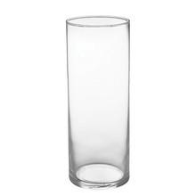 """9"""" Cylinder Vase - Crystal"""