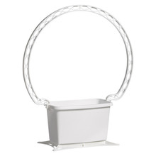 Rectangular Basket - White