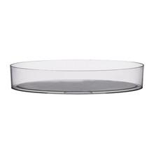 """8 1/2"""" Designer Tray - Crystal"""