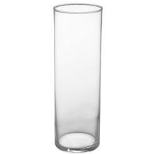 """10 1/2"""" Cylinder Vase - Crystal"""