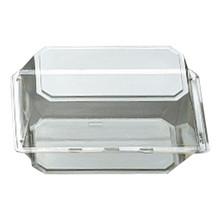 """9""""x5""""x6"""" Corsage Box - Crystal"""