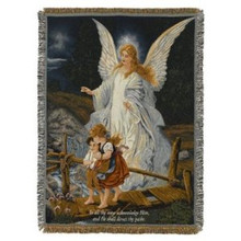 Direct Thy Path Tapestry Throw