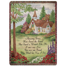 Amazing Grace Tapestry Throw