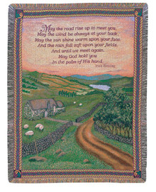 Blessing of Ireland Tapestry Throw