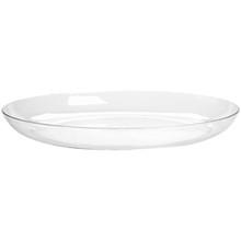 "11"" Designer Dish-Crystal"