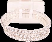 Dainty Flower Bracelet-Dazzle